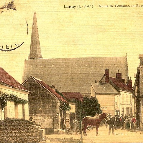 Lunay route de Fontaine en Beauce